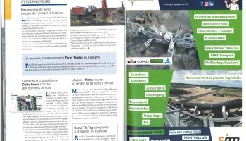 Parution Print - Garonne Concassage Criblage Bureau d'études - Mines & Carrières (Septembre 2019)