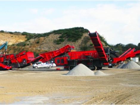 Concasseur à cône pour production de sable et graviers GIPOCONE B3 GIGA