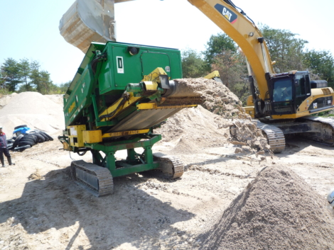 Crible mobile compact MCCLOSKEY KOMPAQ SCREENER