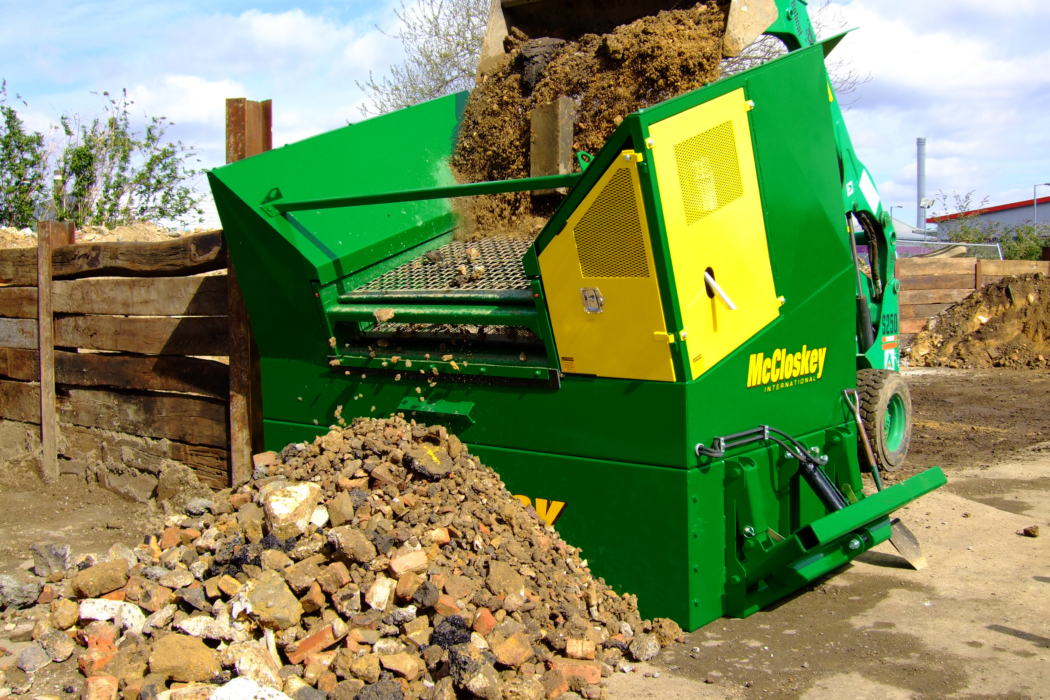 Crible MCCLOSKEY MINI SIZER SCREENER