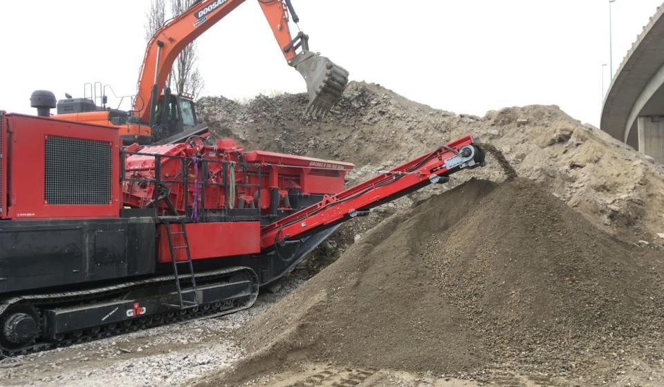 Le recyclage de déblais de chantier
