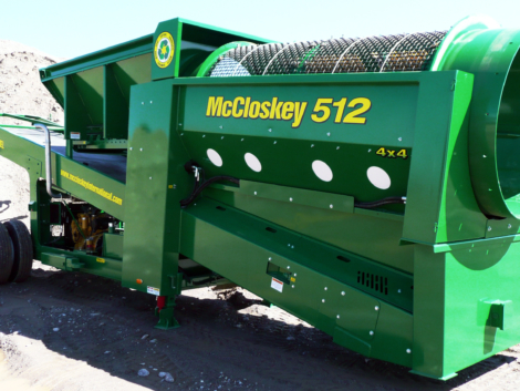 Crible trommel MCCLOSKEY 512A