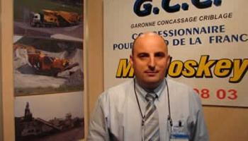 3 questions à Christophe Castaldo, gérant de Garonne Concassage Criblage - Article Construction Cayola (Mars 2012)
