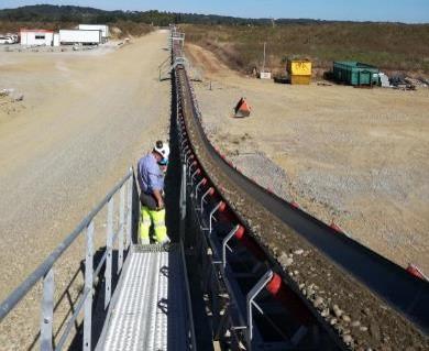 Projet bureau d'études - réalisation convoyeur de plaine