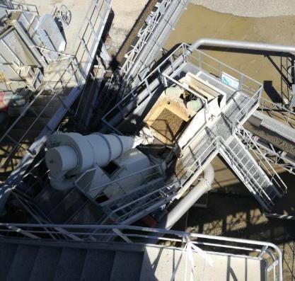 Projet bureau d'études - réalisation cuve et traitement des sables
