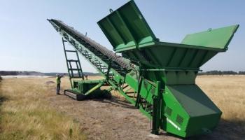 Garonne Concassage Criblage : le stacker c'est du matériel très fiable et simple d'utilisation ! - Article Construction Cayola (Septembre 2015)