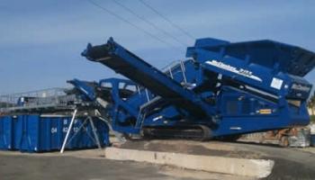 Garonne Concassage CrGaronne Concassage Criblage s'attaque au tri des déchets - Article Construction Cayola (Novembre 2009)