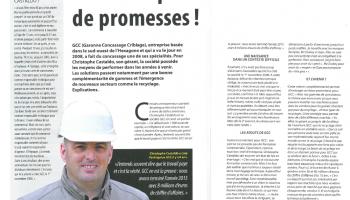 Garonne Concassage Criblage, un avenir plein de promesses ! - Article Terrassements & Carrières (Octobre 2016)
