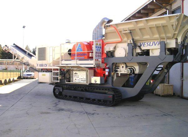 Concasseur à mâchoires GASPARIN GI 107 CV Vesuvio