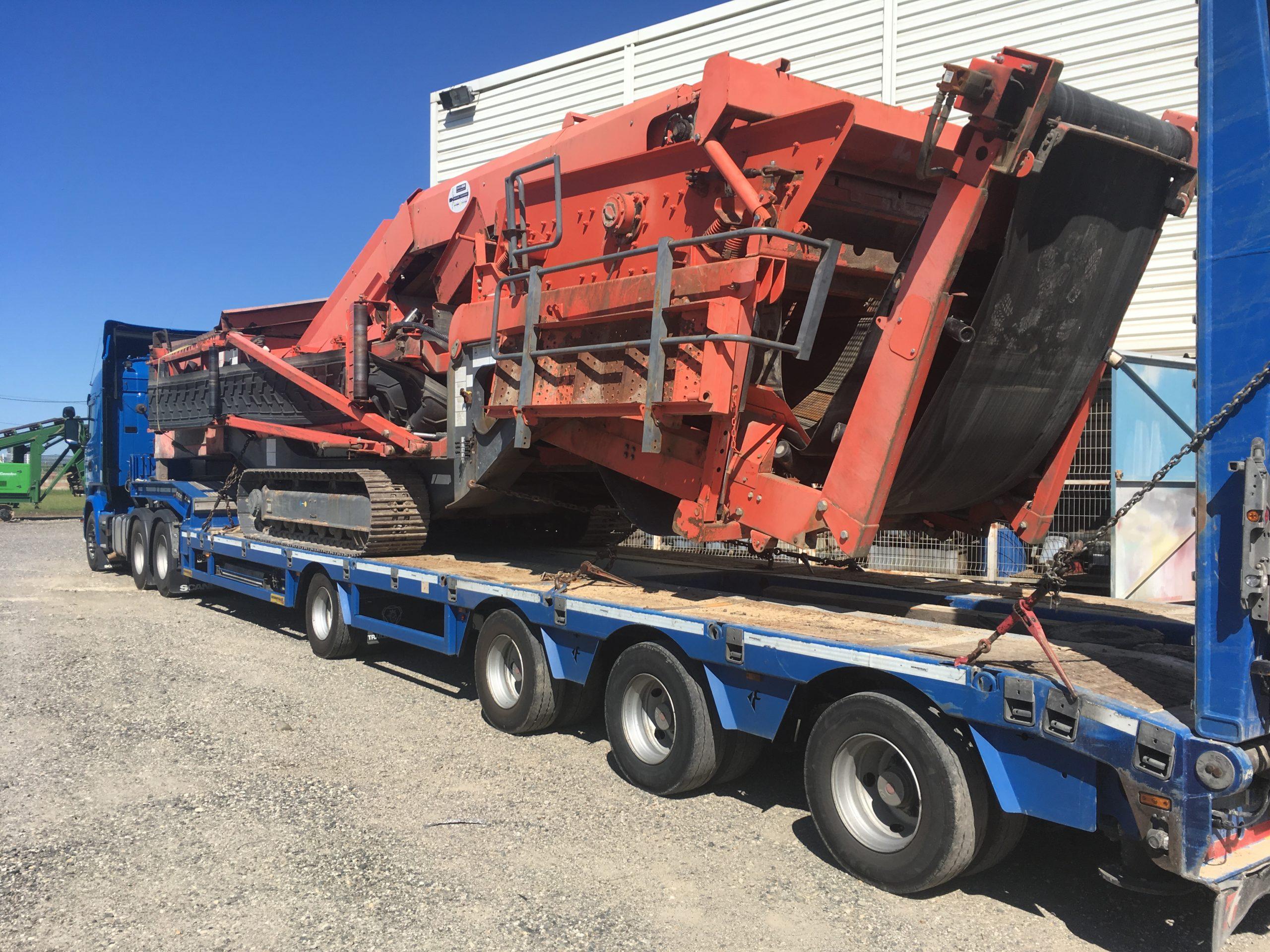Garonne Services - Service Transport en porte-char - Livraison rapide de votre matériel sur votre chantier dans la France entière