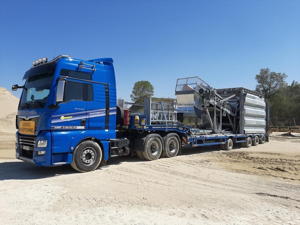 Livraison de matériel installation fixe sur votre chantier dans la France entière - Garonne Services