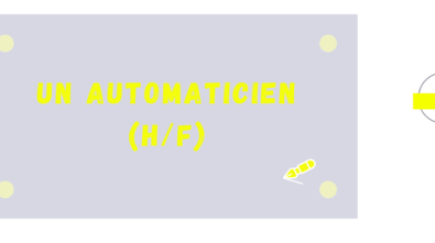Recrutement Automaticien