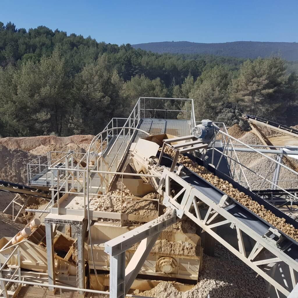 Installation fixe Provence Granulats