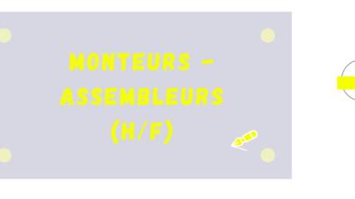 Monteurs assembleurs